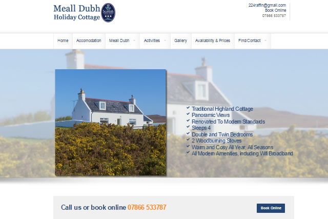 Meall Dubh Holiday Cottage